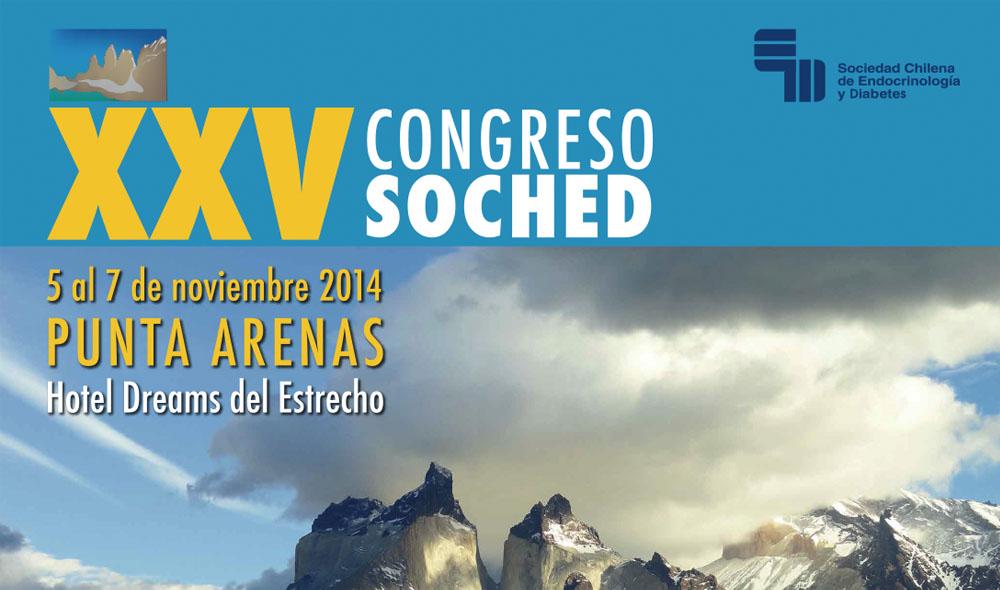 XXV Congreso Chileno de Endocrinología y Diabetes 2014