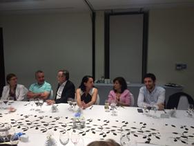 Con cena de camaradería se efectuó última reunión 2017 de Directorio Sociedad Chilena de Endocrinología y Diabetes