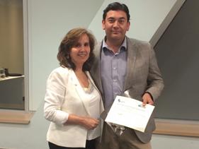 Reconocimiento al Dr. René Díaz, Secretario Ejecutivo del Congreso 2017