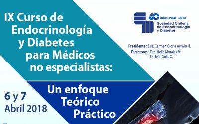 IX Curso de Endocrinología y Diabetes para no Especialistas