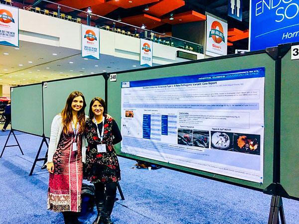 Socia y Becadas SOCHED cuentan su experiencia en el Congreso Anual de la Endocrine Society