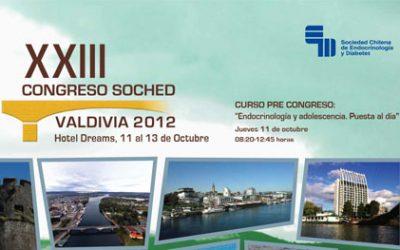 XXIII Congreso Chileno de Endocrinología y Diabetes 2012