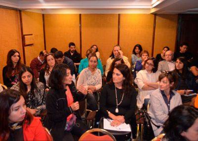 La presentación del Grupo GESUR dio origen a importantes comentarios consultas de los asistentes.