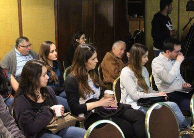 Gran interés concitó en los asistentes, los dos casos expuestos en la reunión.
