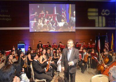 Concierto de Gala  60 años SOCHED, Orquesta Sinfónica Juvenil de La  Antena.                                                                                   Director Sr. Mauricio Ibacache V.