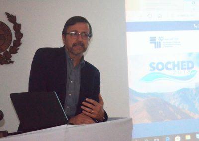 Dr. Pedro Pineda, Presidente SOCHED.