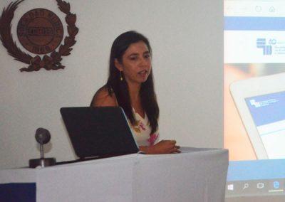 Dra. María Isabel Hernández, Secretaria Directiva SOCHED.