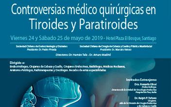 Curso de Controversias médico-quirúrgica de Tiroides y paratiroides