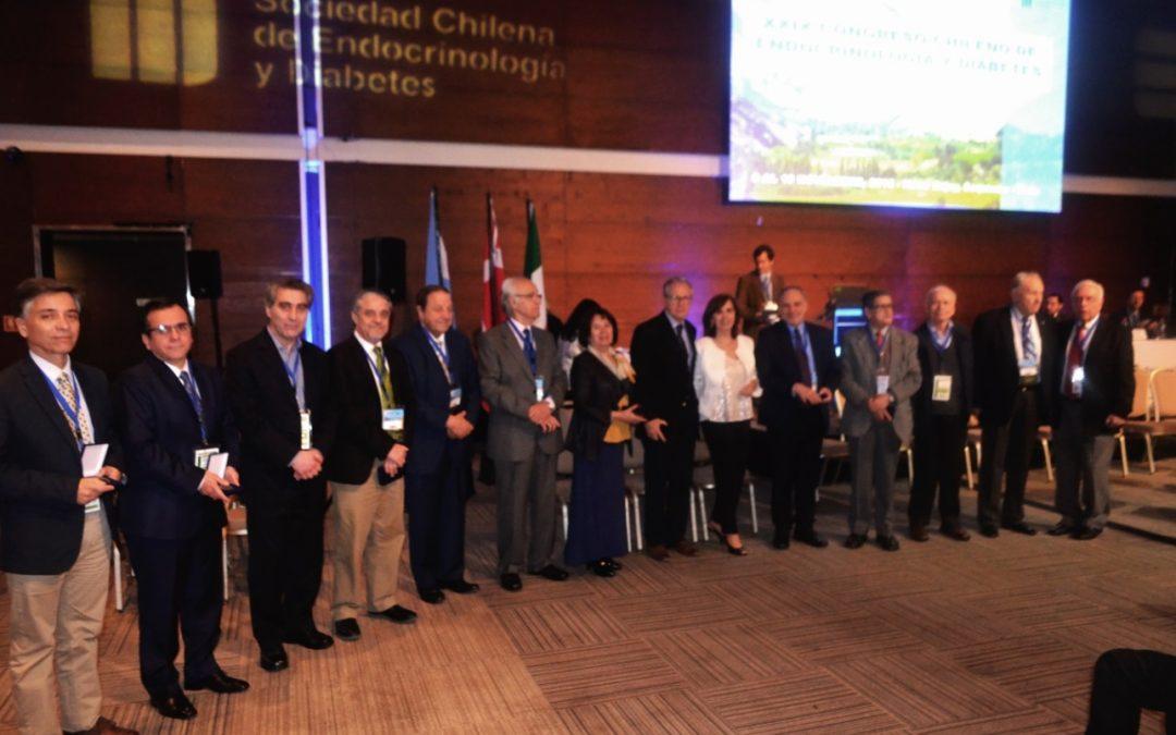Ceremonia conmemorativa 60 años Sociedad Chilena de Endocrinología y Diabetes