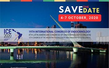 19º Congreso Internacional de Endocrinología (ICE 2020), 4º Congreso Latinoamericano de Endocrinología (CONLAEN)