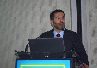 Dr. Hernán Tala, codirector del curso, en representación de SOCHED