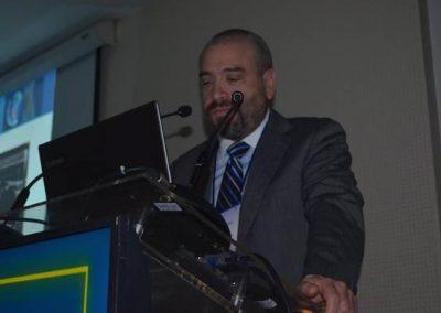 Dr. Arturo Madrid, codirector del curso, en representación de SOCHICC