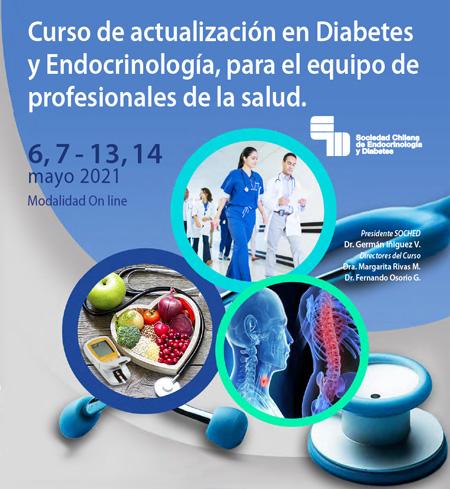 Curso de Actualización en Endocrinología y Diabetes para el Equipo de Profesionales para la Salud