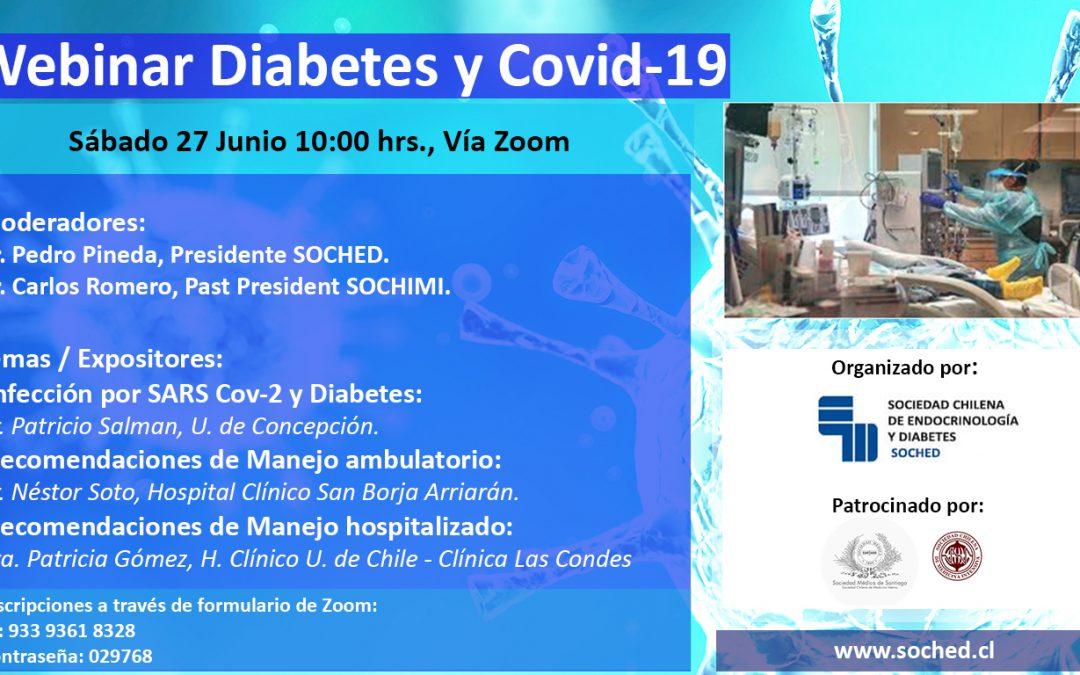 Webinar Diabetes y Covid-19
