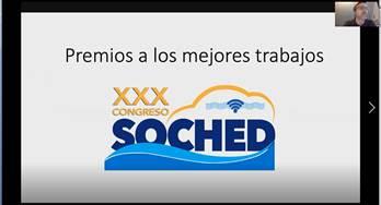 Premiaciones XXX Congreso SOCHED