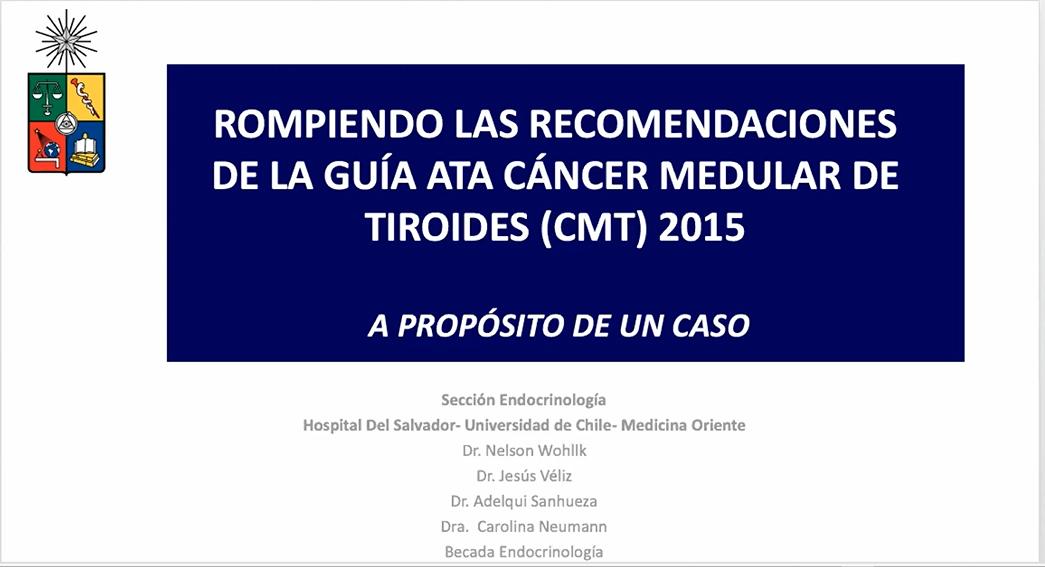 Dos interesantes y desafiantes casos clínicos se presentaron en la reunión de octubre