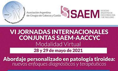 VI Jornadas Internacionales Conjuntas SAEM-AACCYC